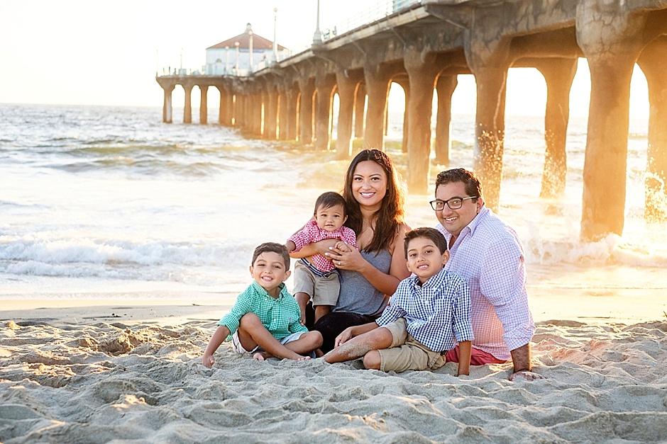 La Orange County Wedding Family Photographer